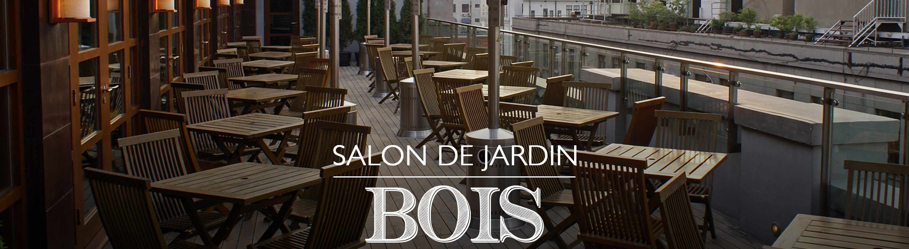 salon de jardin mobilier de jardin bois allstore sas. Black Bedroom Furniture Sets. Home Design Ideas