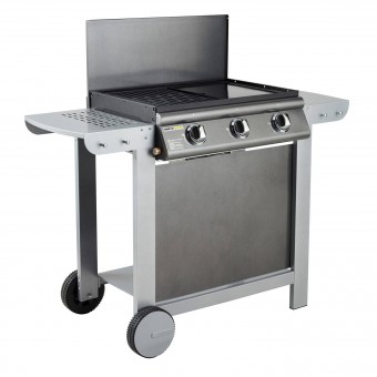 Cook'in Garden - Barbecue au gaz PUERTA LUNA - 3 brûleurs 10,5kW