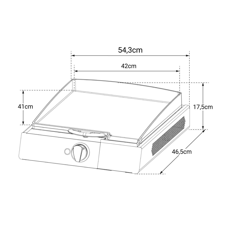Cook'in Garden - Plancha électrique FINESTA - 2,5kW