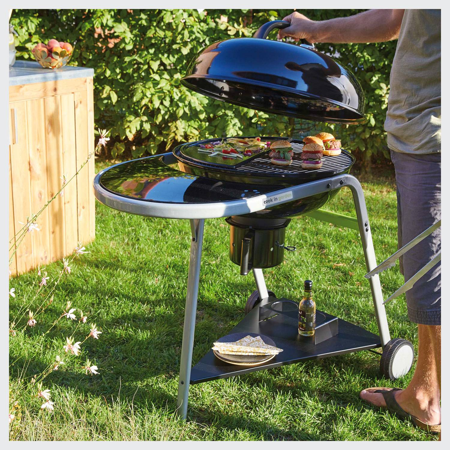 Cook'in Garden - Barbecue au charbon de bois TONINO 2