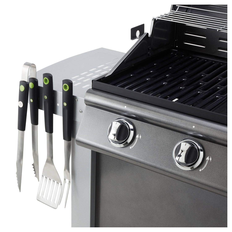 Cook'in Garden - Coffret de 3 accessoires aimantés pour barbecue