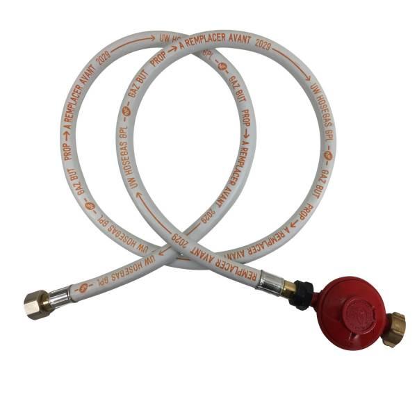 tuyau flexible gaz, détendeur