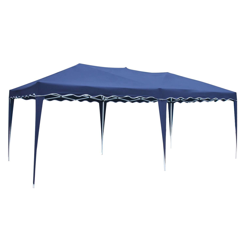 Tente de réception ZEPHYR pliante 3x6m Bleu