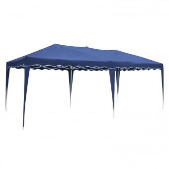 Tente de réception ZÉPHYR pliante 3 × 6m Bleu