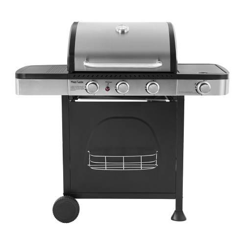 Barbecue au gaz DALLAS - 3 + 1 brûleurs avec thermomètre
