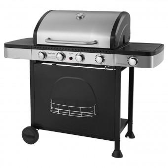 Barbecue au gaz HOUSTON - 4 + 1 brûleurs avec thermomètre