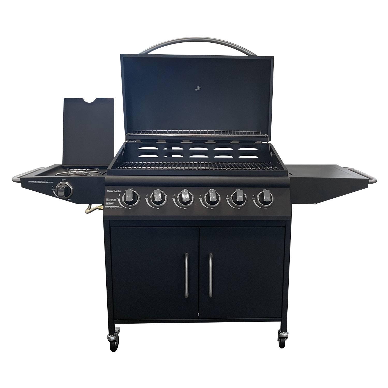 Barbecue au gaz TUCSON 6 brûleurs et 1 feu latéral