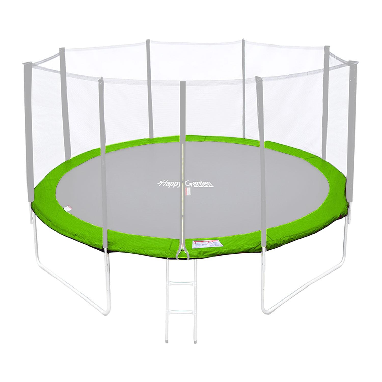 Matelas de protection réversible pour trampoline MELBOURNE - vert/bleu