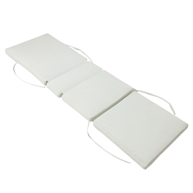 Coussin pour bain de soleil 200x60cm beige