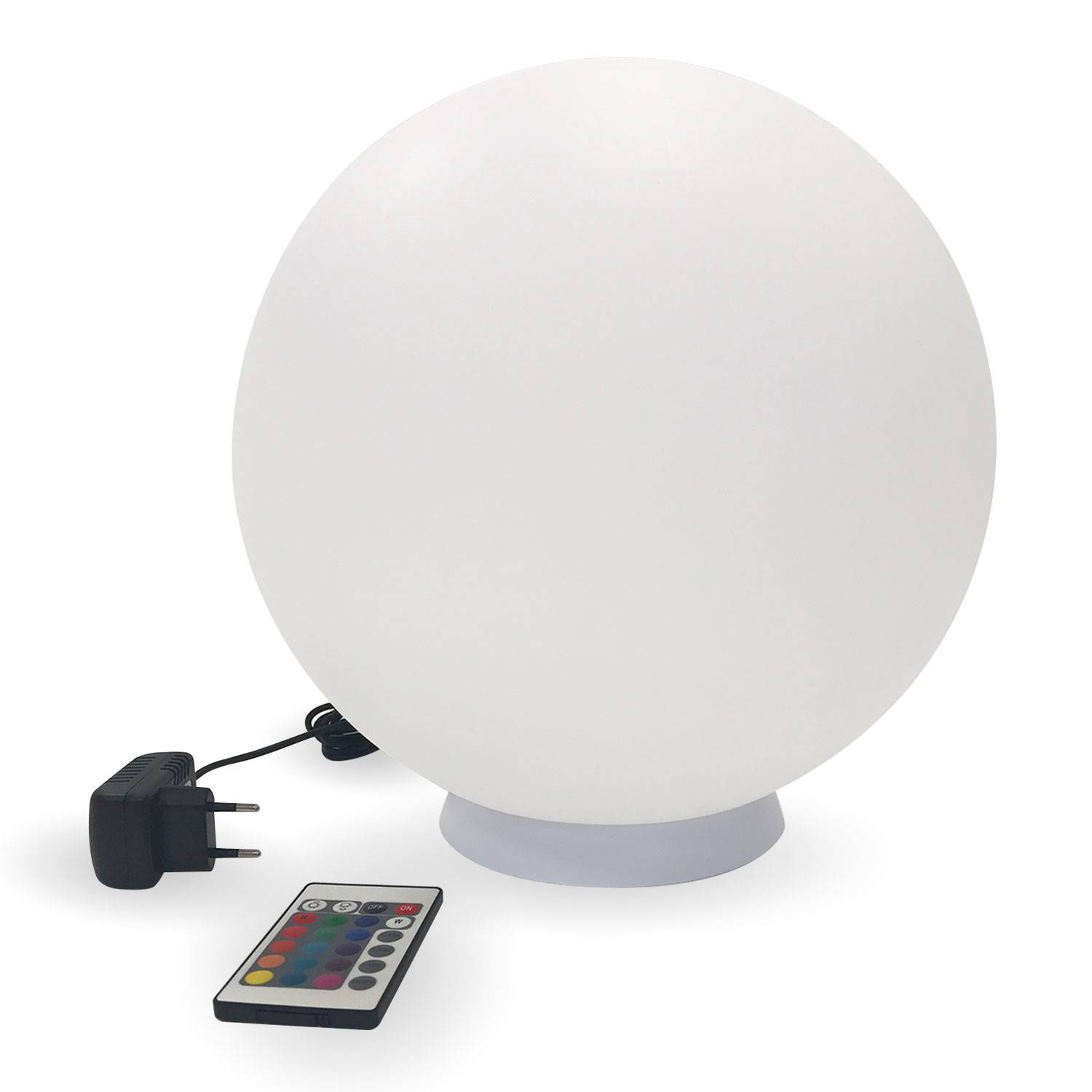 Boule lumineuse LED Ø 40cm multicolore ADHARA