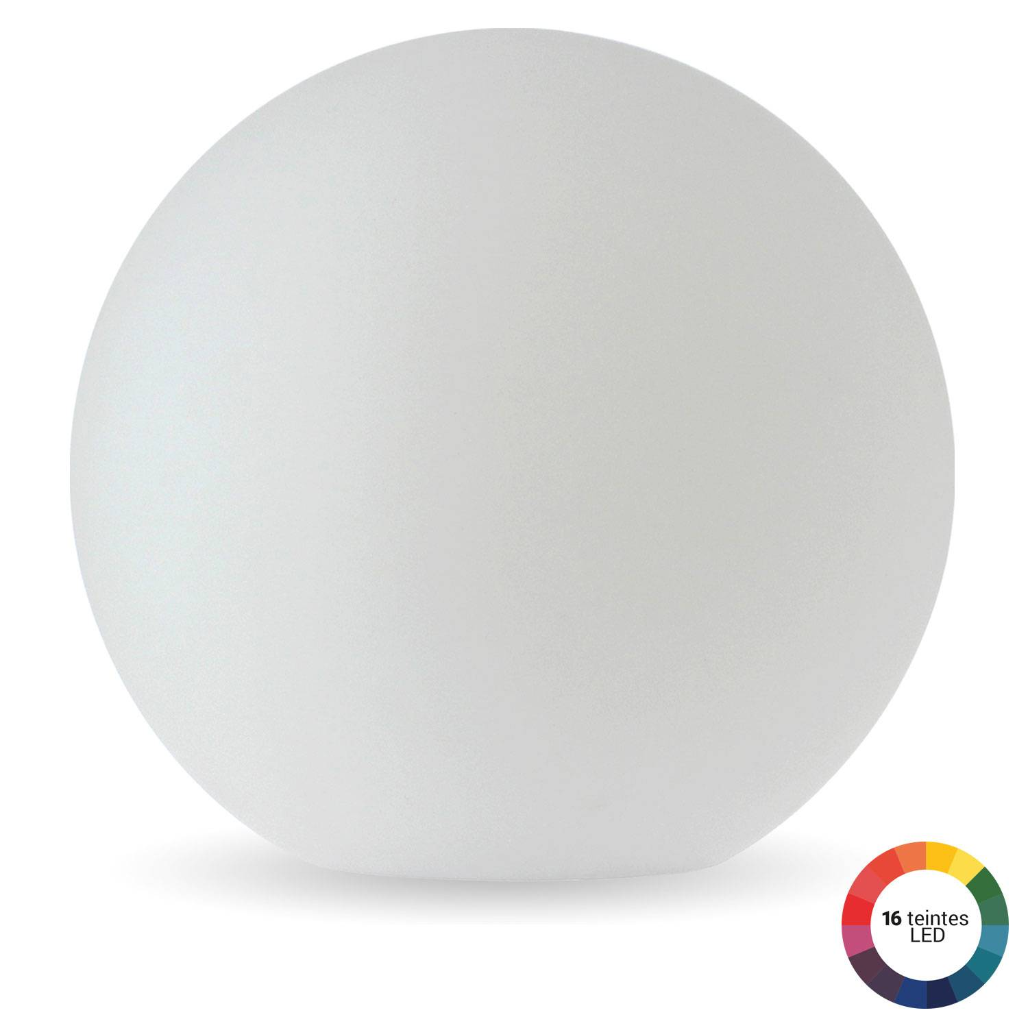 Boule lumineuse LED Ø 50cm multicolore ADHARA