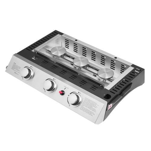 Plancha au gaz SEVILLA - 3 brûleurs 7,5kW