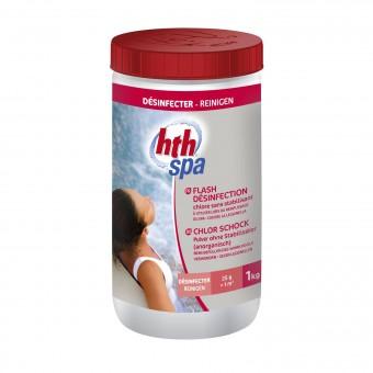 Poudre flash de désinfection pour spa gonflable
