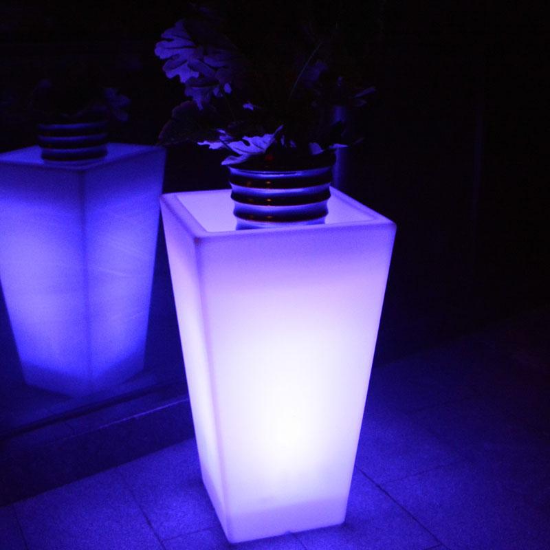 Pot de fleurs lumineux GEMMA