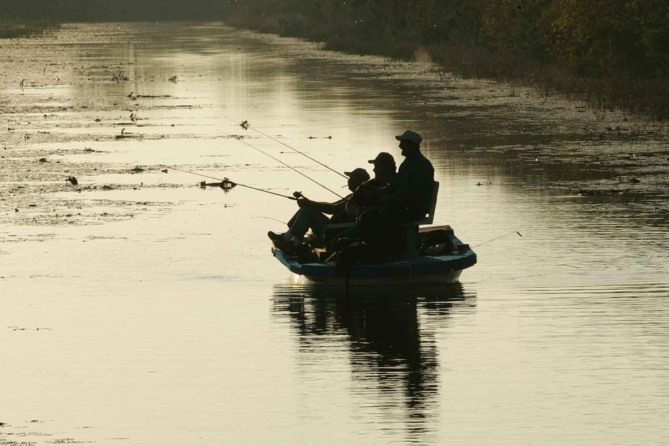 La pêche en paddle