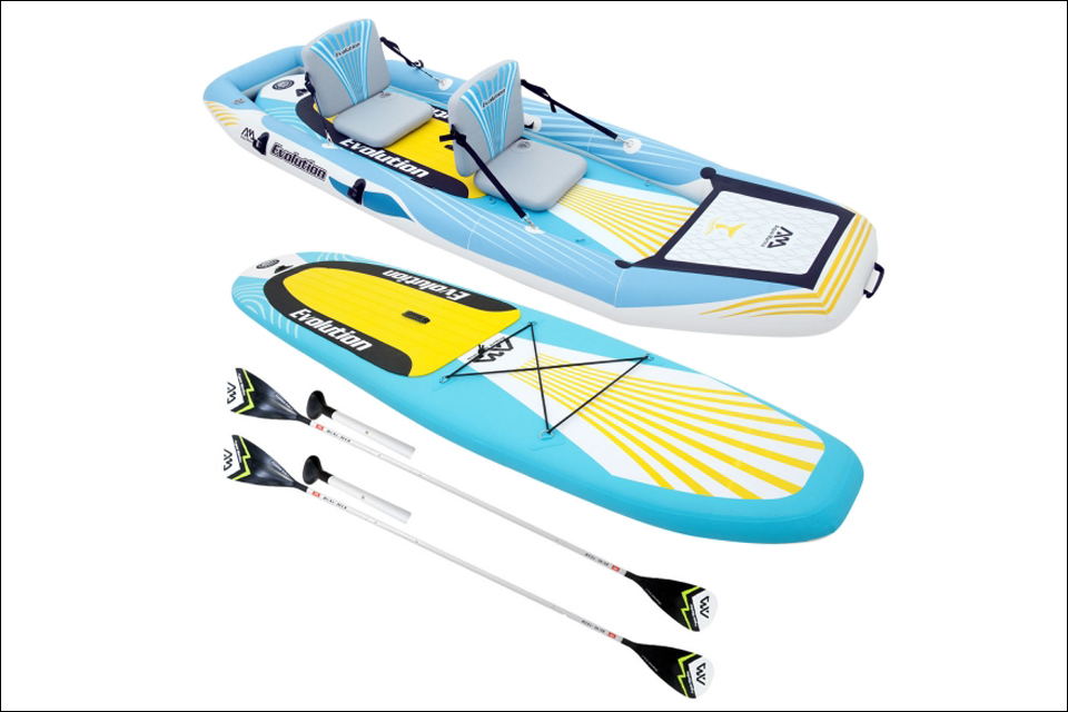 Le paddle kayak