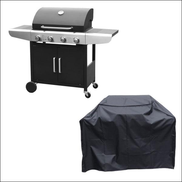 Housse pour barbecue au gaz