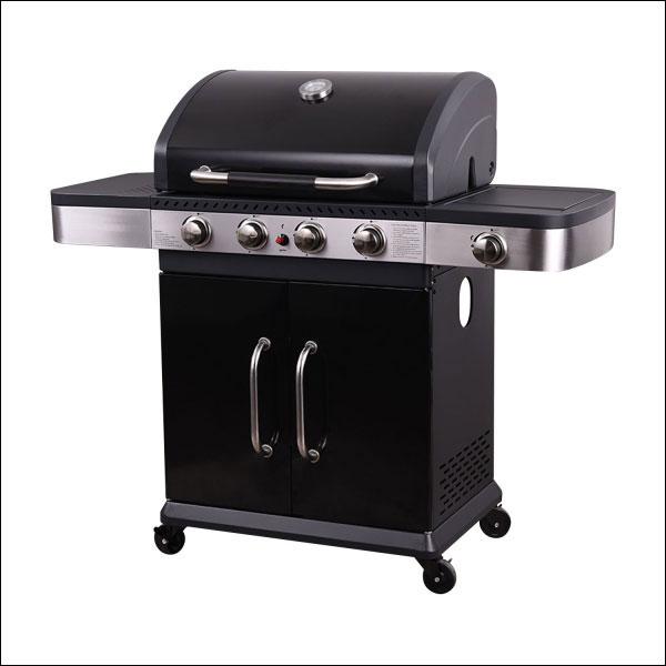 Barbecue au gaz 4+1 brûleurs TENNESSEE