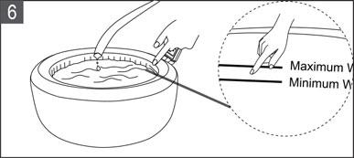 Installation du spa gonflable